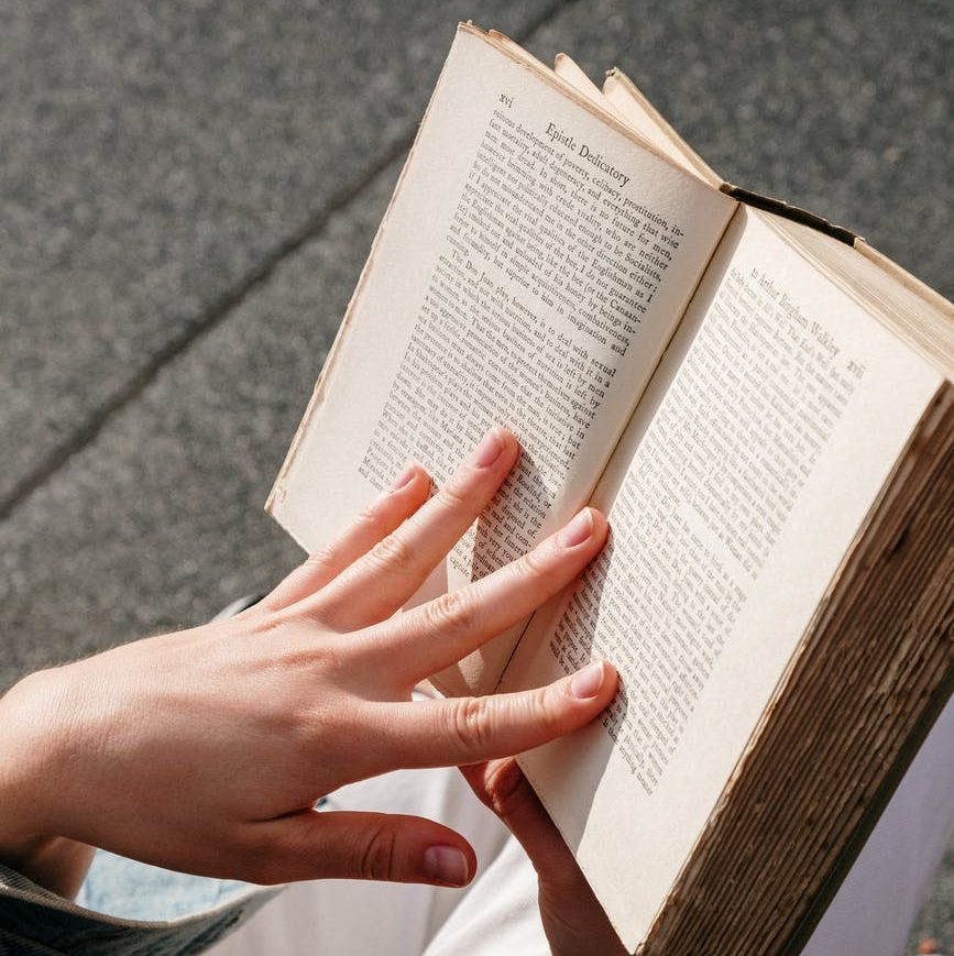 long books or books with tiny print can often be too hard for young readers (but not always)